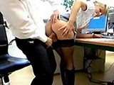 Real Amateur Booty Secretary Fucked At The Office
