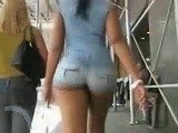 Awesome Juicy Butt Caught In Public