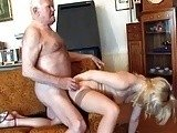 Old Fart Banged Young And Sexy Teen Blonde