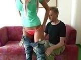 Tight Teen Seduced Her Daddy's Friend