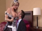 Big Boobed Maid Makes Her Boss Craves For Fucking