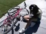 Teen Girl Fell Of A Bike At A Wrong Neighborhood