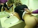 Friends Hot Mom Cornered Me In The Bathroom And We Started Having Sex