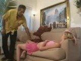Dad Couldnt Resist To Fuck Sleepy Blonde Babysitter