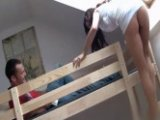 Perfect Tight Ass College Chick Fucks Her Roommate