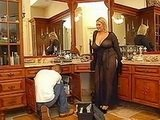Huge Boobed Housewife Seduces Young Plumber